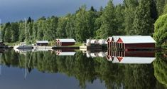 This post will take you to Lake Näsijärvi, one of the 187 000 lakes in Finland. We will make a boat trip on the calm Finnish lake, from Tampere to Virrat. Make A Boat, Finland, Reflection, Trips, Country, Traveling, Travel, Rural Area, Country Music