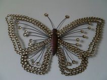 Awesome Metall wanddekoration schmetterling