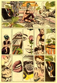 Nick Fury page 5 by Jim Steranko. A famous wordless page of Nick Fury, Agent of S. Nick Fury, Comic Book Artists, Comic Books Art, Comic Art, Agents Of Shield Comic, Example Of Comics, Comic Book Layout, Jim Steranko, Superman