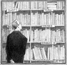 Bookshelf of literary disorders--could be a cool bookplate