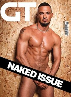 Gay Times Naked Issue: Robin Windsor www.gtdigi.co.uk