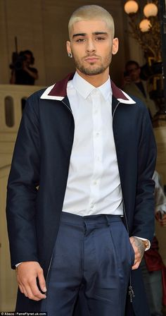 Cool and collected: Zayn Malik has been enjoying life at a much slower pace, stepping out ...