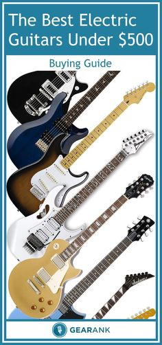 A detailed guide to the Best Solidbody Electric Guitars with a street price between $200 & $500.