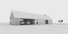 Namo projektas. Architektas LT House Designs Ireland, Cottage Design, Cambridge, House Ideas, Exterior, Nice, Outdoor Decor, Projects, Home Decor