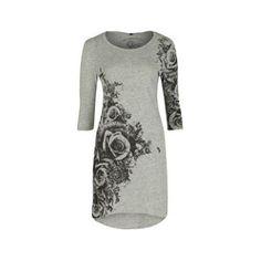 Stylish womens' fashion, Firetrap Blackseal Floral Dress.