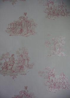1000 images about wallpapers on pinterest wallpaper uk - Papel pintado toile de jouy ...