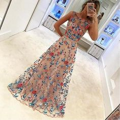 2017 Unique Popular Charming Gorgeous Evening Long Prom Dresses, WG740