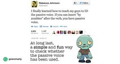 Got a Problem With Passive Voice? These 7 Sentences Will Help