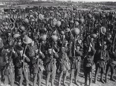 Men of the 2/7 Durham Light Infantry somewhere in France