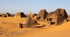 https://flic.kr/p/6kqKDu | sudan - the black pharaohs | The Meroe Pyramids.  The Meroe Pyramids are located in the North-East of Sudan near the banks of the Nile in the area commonly known as Nubia. There are close to two hundred pyramids in a relatively small area, the ancient burial site of the Merotic Kingdom (sometimes known as the Kingdom of Kush). The Pyramids are smaller than their Egyptian cousins but equally impressive due to their number. The first of the Meroe Pyramids were built…