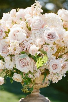 pink wedding flower bouquet, bridal bouquet, wedding flowers, add pic source on comment and we will update it. Floral Wedding, Wedding Flowers, Bouquet Wedding, Altar Flowers, Pink Bouquet, Rose Wedding, Garden Wedding, Wedding Centerpieces, Wedding Decorations