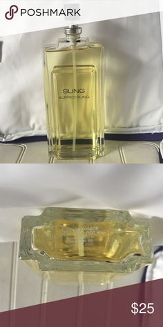 SUNG Alfred Sung women's EDT SPRAY 3.4 Tester unboxed no cap Alfred Sung Makeup