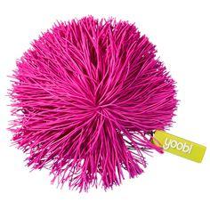 Pom Pom Keychain - Pink