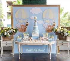 950 Likes, 11 Comments - Inspire sua Festa® Torta Baby Shower, Baby Boy Shower, Baby Boy 1st Birthday, Boy Birthday Parties, Baby Event, Baby Shawer, Boy Decor, Baby Party, Baby Shower Themes