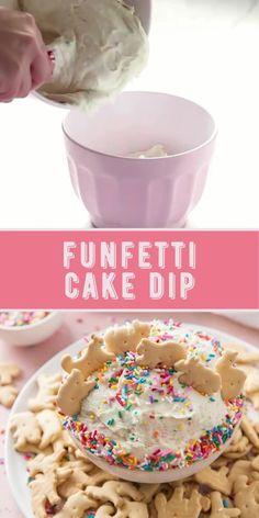 Easy Desserts For Kids, Quick Dessert Recipes, Kid Desserts, Dessert Dips, Fun Baking Recipes, Party Desserts, No Bake Kids Recipes, Easy Meals To Make, Yummy Dessert Recipes