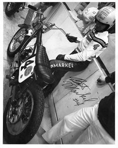 Here's #4 Bart Markel at an indoor, back in the day. Do they still make racers as tough as Bad Bart?