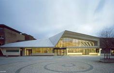 Vennesla Library Facade