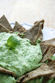 This easy fava bean-spring pea hummus makes a dazzling party appetizer ...