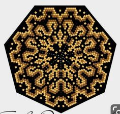 Peyote Patterns, Bead Patterns, Beaded Ornaments, Close Image, Beaded Jewelry, Tapestry, Crochet, Crafts, Mandalas