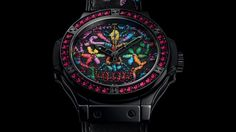 #Hublot Big Bang Broderie Sugar Skull