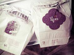 Confeitaria Lopes. paper bags