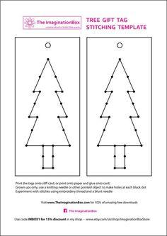 stitch tree template