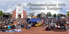 Münsterstraßenfest 2013  Panorama Rundgang