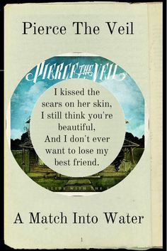 This is my favotite song by pierce the veil <3