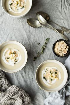Cauliflower and Apple Soup