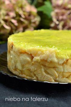 Ciasto z jabłkami bez pieczenia - niebo na talerzu