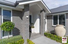 Bricks For Sale, Brick Cladding, Concrete Bricks, Brick Colors, Brick Design, Exterior Colors, Minimalism, Iron, House Design