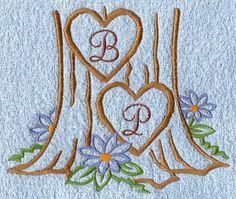 Wedding & Anniversary Monograms