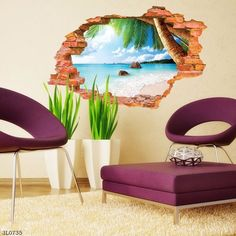 Wall Stickers Enthusiastic Swing Boy Girl Living Room Nursery Room Eco-friendly Removable Door Diy Wall Stickers Decal Decoration Art Mural Poster Dc12 Elegant In Style Home & Garden