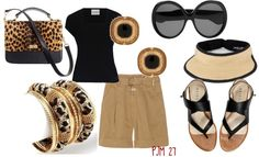 """Be ad-Visored"" by pjm27 on Polyvore"