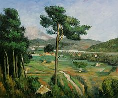Mount Saint-Victoire by Cezanne