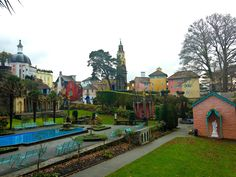 Pottering Around Portmeirion
