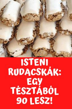 Hungarian Desserts, Hungarian Recipes, Sweets Cake, Cookie Desserts, Cake Recipes, Dessert Recipes, Delicious Desserts, Yummy Food, Happy Foods