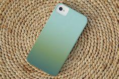 Ombre iPhone Case in Ocean