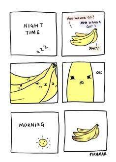Now you know how they get those bruises. #banana #humor