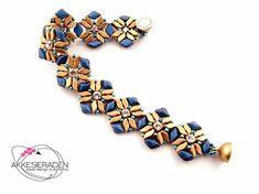 English pattern for the Dutch Tulips bracelet