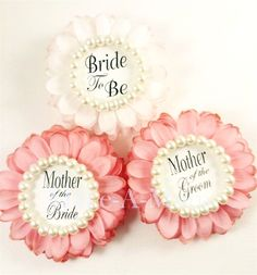 Items similar to Modern Rose & Blush Wedding Party Gift Bridal Shower Corsages Best Bridal Shower Gift, Wedding Shower Favors, Bridal Shower Rustic, Bridal Shower Decorations, Gifts For Wedding Party, Bridal Shower Favors, Bridal Gifts, Diy Wedding, Wedding Decor