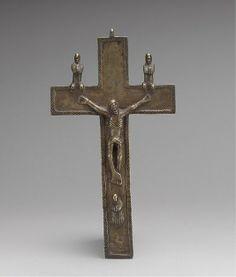 Crucifix, Kongo peoples, Angola, 17th century