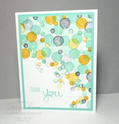 Stamped Thank You Card  Thank You Note  Hand by AcarrdianCards