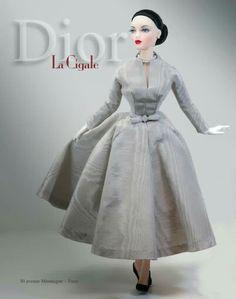 Gene Marshall wearing Dior
