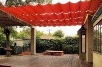 Frameless Slide Wire Canopy