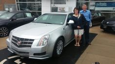 Eric thanks for referring Paul and Karla in to purchase their 2011 Cadillac CTS from me.  Little did I know that you had been looking for over 2 years for a car:) I am glad to have you as clients!  Jay Grosman Www.TalkingCarsWithJay.com Bommarito St.Peters