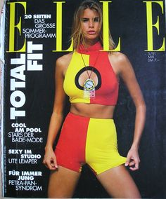 Niki Taylor - Elle Germany May 1991