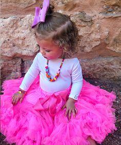 Black White Big Polka Dots FULL Pettiskirt Skirt Dress Dance Tutu Girl 1-8Year