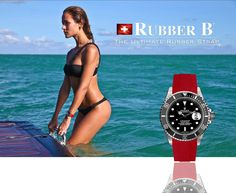Summer Beauty with Rubber B - The Ultimate Rubber Strap for Rolex.