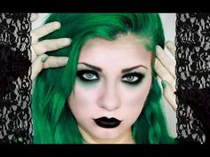 Gothic Makeup Tutorial | HeyThereImShannon - YouTube